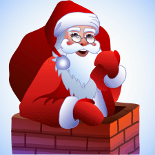 новогодние иконки для моб. приложения