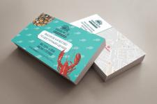 Разработка дизайна визитки для рыбного магазина