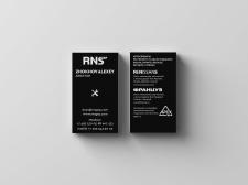 Дизайн визитки для сети магазинов