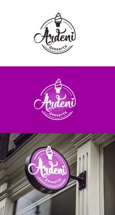 """Логотип """"Ardeni desserts"""""""