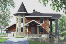Жилой дом в с. Плешкани