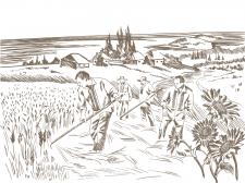 Иллюстрация фотошоп