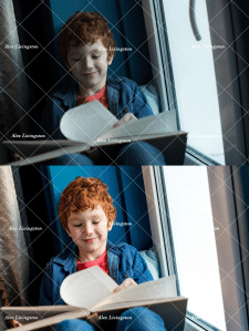 Сьемка, цветокоррекция и ретушь детских фото
