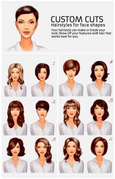 Инфографика для beauty-блога