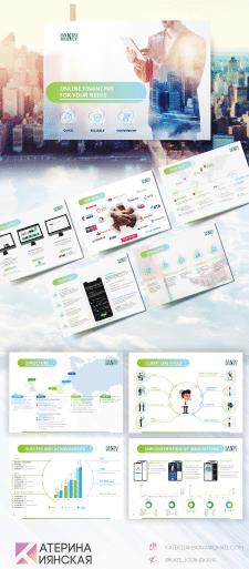 Дизайн презентации для SandoMoney