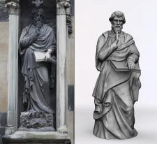Скульптура из собора Святого Стефана