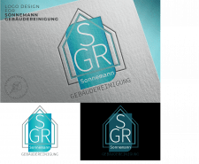 Logo for cleaning company