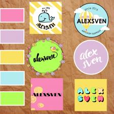 Разработка логотипа бренда детской одежды