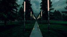 Фрагмент парка. МАФ