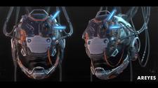 Cyberpunk mask concept