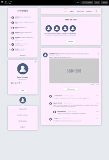 Light UI Kit