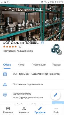 SSM Google Maps Магазин подшипников