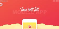 Timewilltell- landing page: (html/css/js)