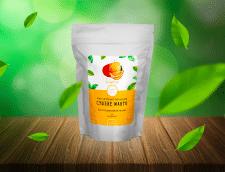 Дизайн наклейки на упаковку сушеного манго 2