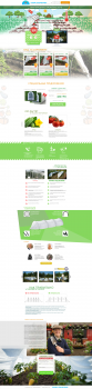 Landing Page по продаже парников (сад/огород)