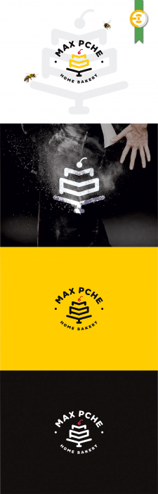 Логотип для MaxPche bakery