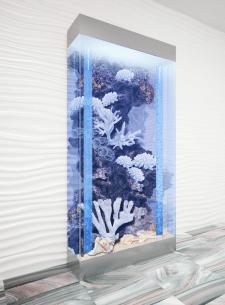 3D визуализация аквариума