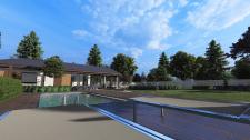 Визуализация проекта озеленения