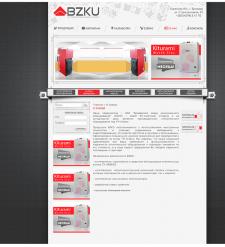 """Дизайн сайта для компании """"BZKU"""""""