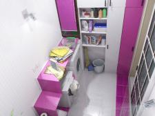 Дизайн и моделирование интерьера туалетной комнаты