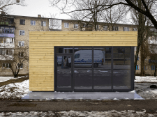 3D визуализация магазина суши (МАФ)