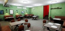 Интерьер бара - Unreal Engine 4