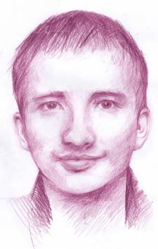 """Портрет """"Фіолетовий настрій"""""""