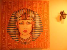 Настенная роспись в египетском стиле