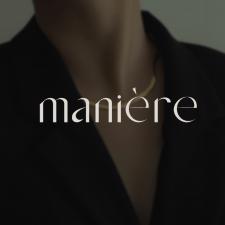 Фирменный стиль для бренда «Maniere»