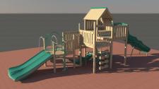 Визуализация игровой площадки