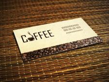 Визитка кофе