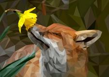 Иллюстрация лисы
