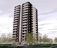 Проект 16-ти этажного жилого здания