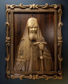 Визуализация модели, патреарх КИРИЛ