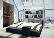 Мансарда1, спальня