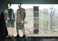 Дизайн мужской одежды в этно стиле
