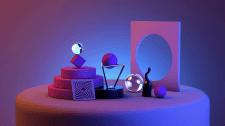 Дизайн 3D Абстракция