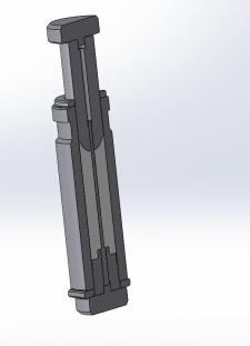 Прессинструмент в разрезе 3D