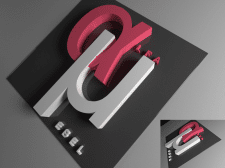 Логотип в 3Д-графике