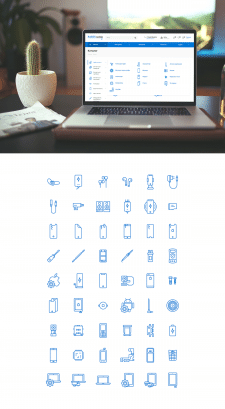 Иконки для PARTSmobile
