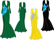 Дизайн платья