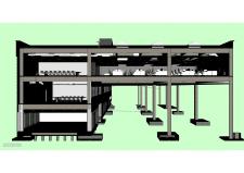 3D-модель административного корпуса (Navisworks) 2