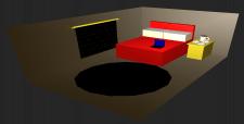 3D сцена на базе OpenGL