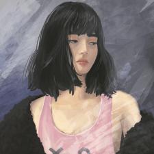 Портрет японки