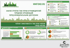 Дизайн презентации для Московского фонда развития