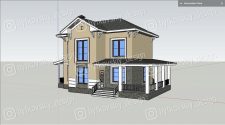 Дом для проекта озеленения