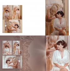 Свадебный альбом фотокнига. Вёрстка фотокниги