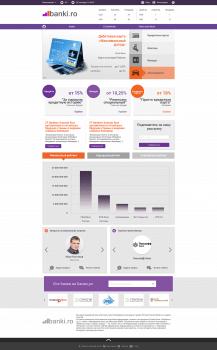 Дизайн корпоративного сайта финансовых услуг