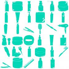 Иконки для сайта косметики (35 шт)