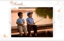 Сайт детского и семейного фотографа